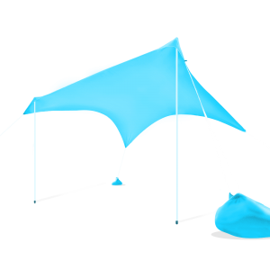 Otentik sunshade, windproof, sun shelter, pop up beach tent, beach shelter