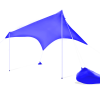 Otentik Royal Blue Sunshade Beach Shelter