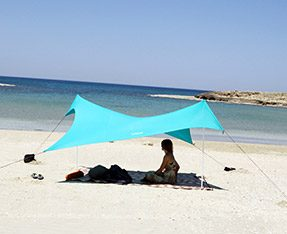 Otentik Light Blue Beach Sunshade Tent