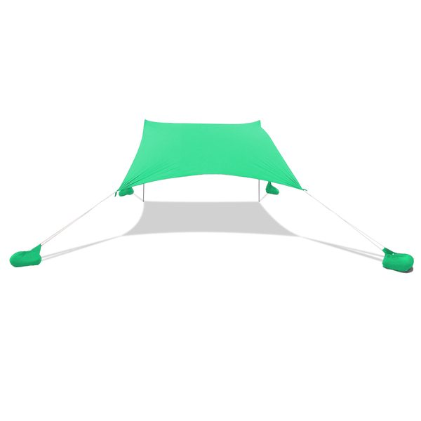 Otentik Large Sunshade beach shelter green beach sunshade