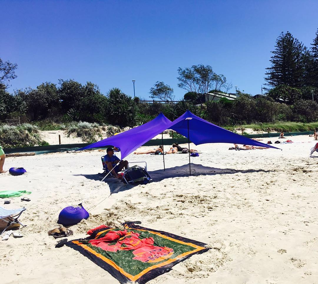 Otentik Large Pop Up Beach Shade Sun Shelter Ideal For Nz Families