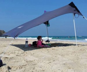Otentik Original Sunshade - ultimate beach tent, sun shelter beach shade for the family