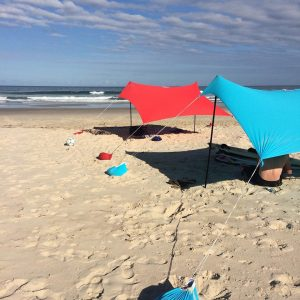 Otentik Original Sunshade - ultimate beach tent, sun shelter lightweight 50+SPF, windproof beach sunshelter.