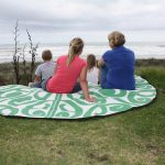 Korero Green Outdoor Picnic Mat Kariotahi copy