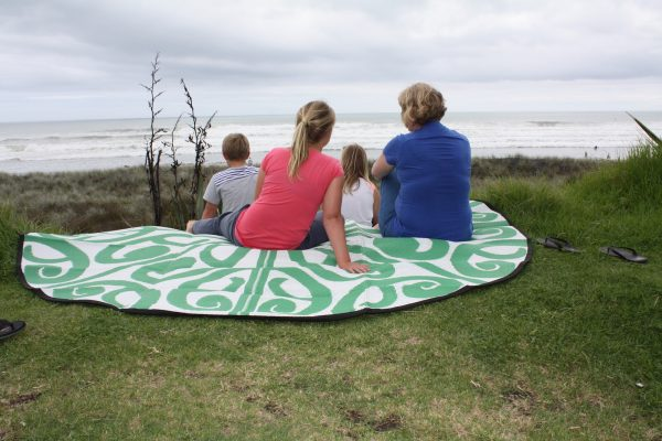 Korero Design Recycled Mat - camping, picnic, classroom, beach, NZ gift family