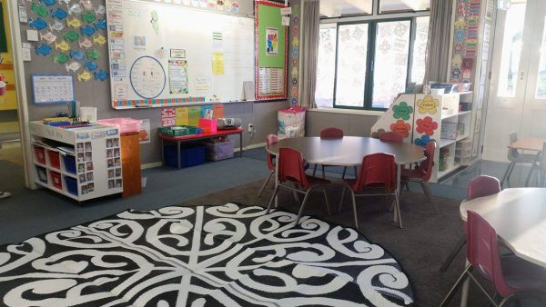 Korero Design Maori Mat - South Auckland Primary School Classroom 3 Korero Design Recycled Mat - camping, picnic, classroom, beach, NZ gift