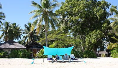 Otentik Sun shade, beach sun shelter, easy set up beach tent