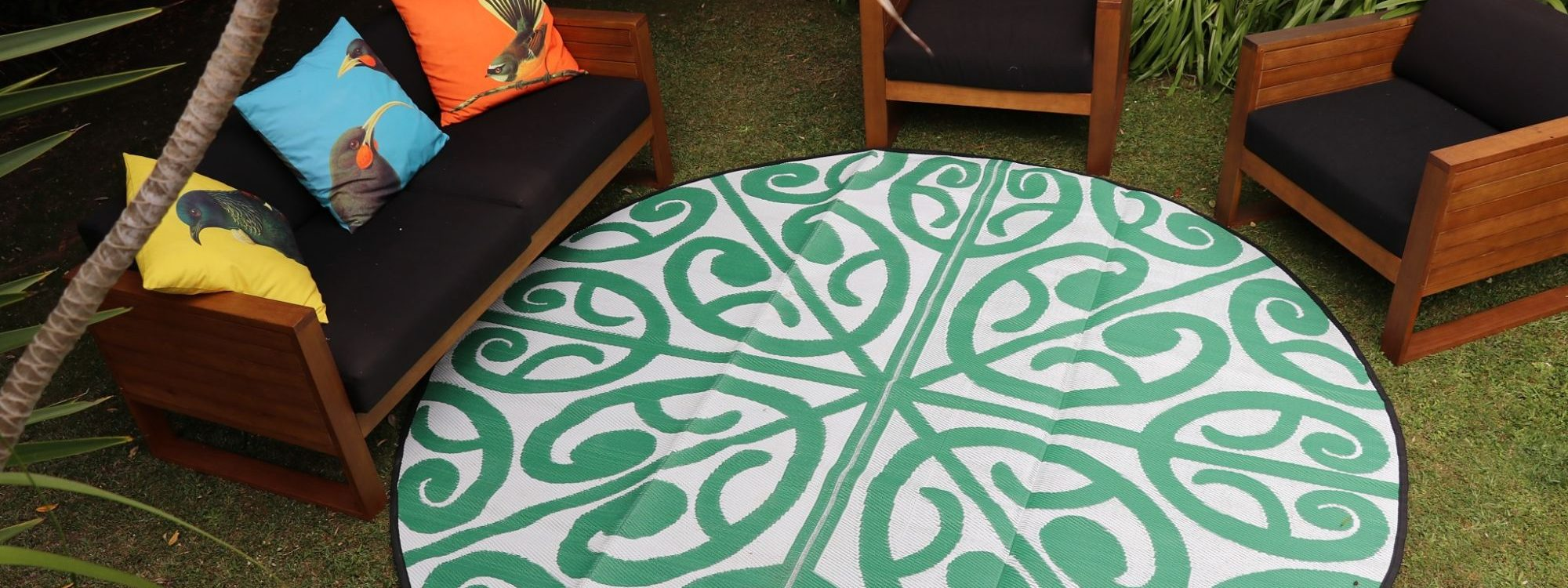 Recycled Mat Collection - fashionable mats for a picnic, at the beach, in an outdoor area