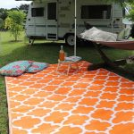 Moroccan camping equipment caravan outdoor mat