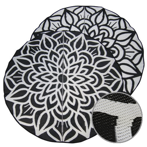 Mandala Design Recycled Mat, Outdoor Mat, Camping Mat, School Classroom Mat, Fashion Mat