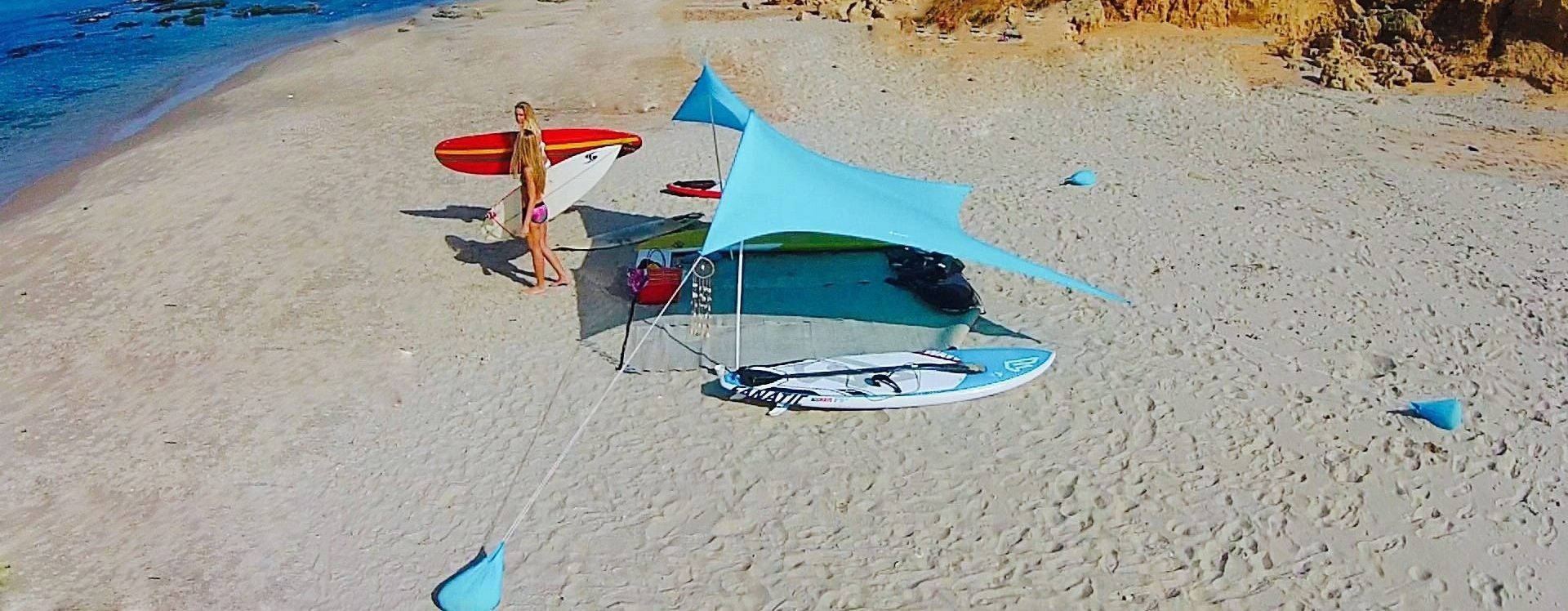 beach sunshade tent shelter