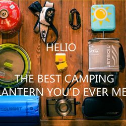 HELIO Lantern ideal compact rechargeable camping light