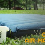 Max Pump rechargeable inflation camping mattress