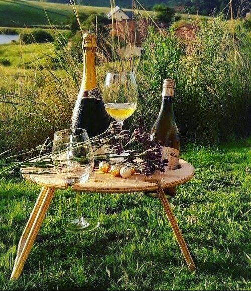 Summer Picnic Wine Table Valentines romantic Gifts