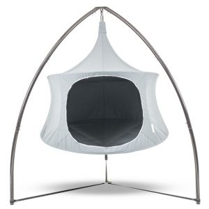 Treepod Lounger Cabana Tripod stand for your hammock tent hybrid tree tent
