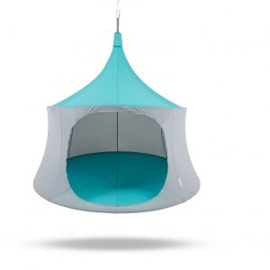 6ft cabana aquamarine hanging tree tent glamping