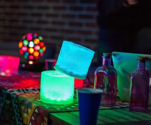 Luci Solar Multi colour Lantern party light