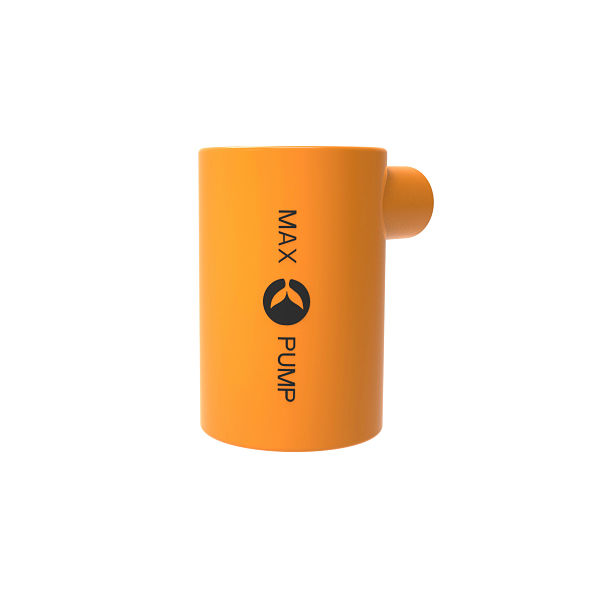 Max Pump ORANGE portable battery rechargeable inflation pump_opt