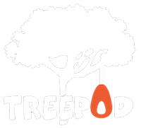 TreePod, hanging chair, glamping hanging tent