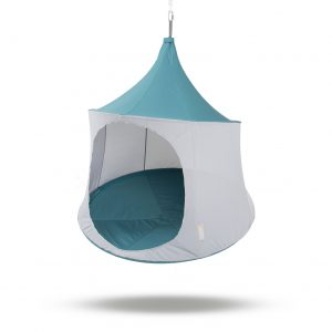 Treepod Hanging Chair, day tent, hammock, egg chair, slate blue 1.5m