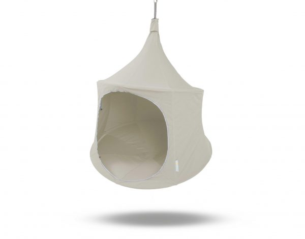 Treepod, Hanging Tent, day bed, Ivory 1.5m