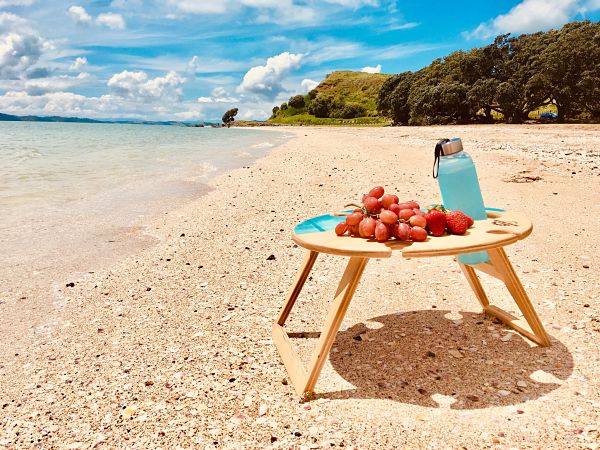 Summer, Picnic, Table, beach