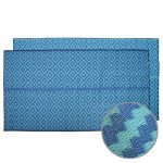 Caravan, Motorhome, Annex, Outdoor Mats – diamond blue teal
