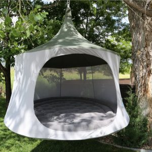 TreePod, inflatable, mattress, hanging, tent, chair, hammock, alternative