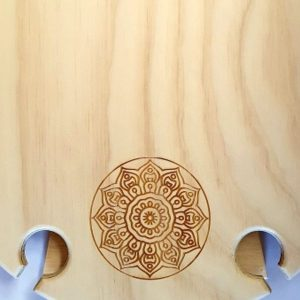 Mandala, Summer, Portable, Picnic, Wine, Table, round, detail, outdoors, birthday, anniversary