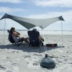 Grey, Large, Otentik, Sun, Shade, beach, tent, shelter copy