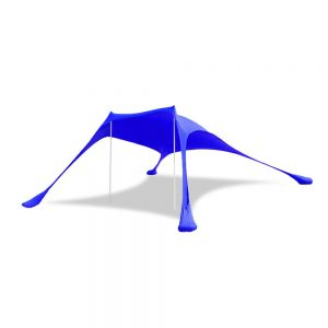 Royal Blue, Large, Beach, Sun, Shade, Shelter, Back, pop up