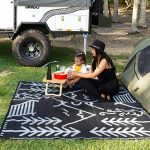 Life in the great outdoors, recycled, plastic, picnic, beach, camping, mat-min