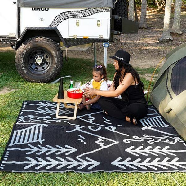 Life in the great outdoors, recycled, plastic, picnic, beach, camping, mat