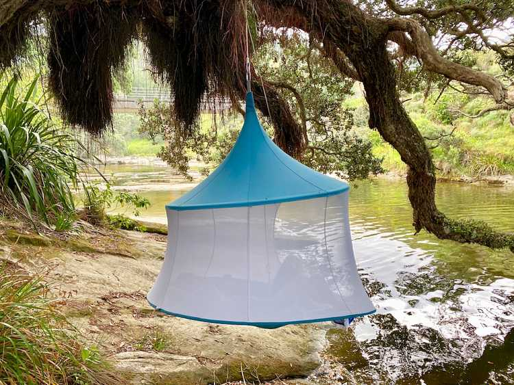 Hammock, hanging tent, hanging chair, TreePod, camping equipment, glamping accessories, outdoor gear